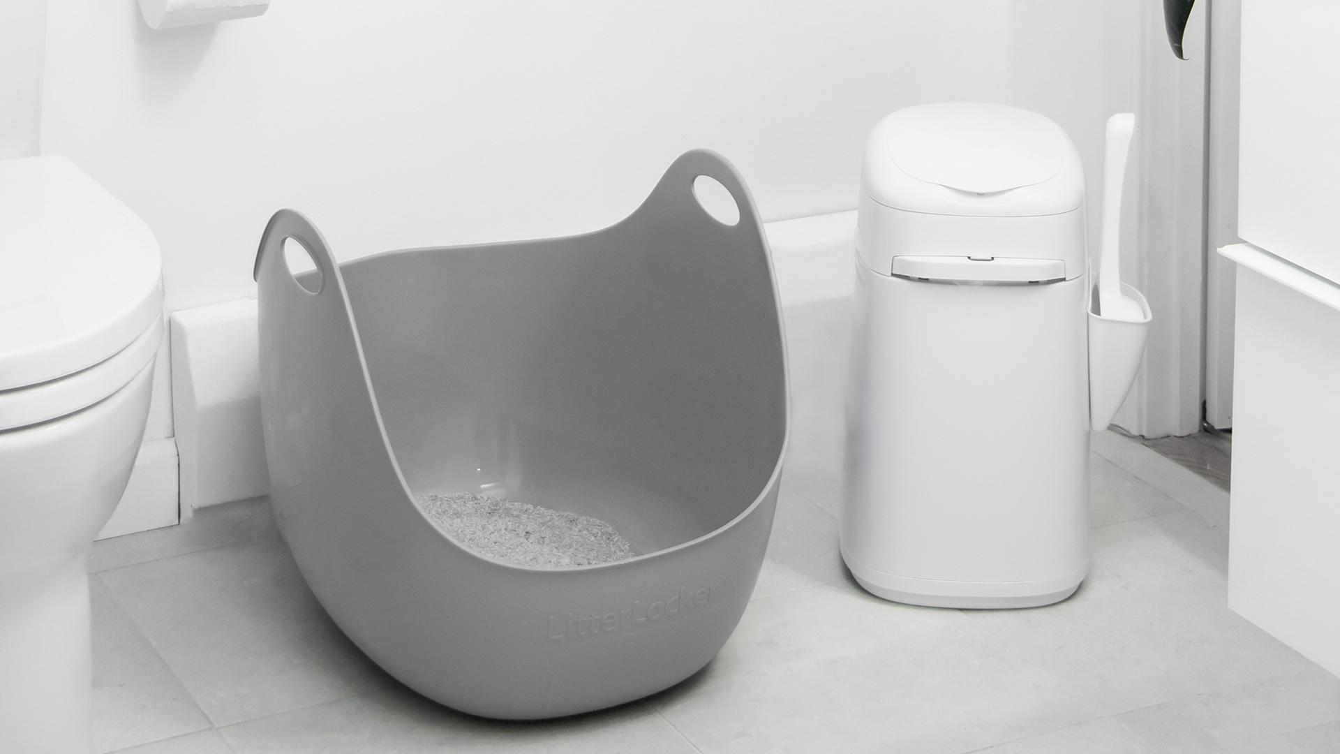 LitterLocker Article blogue Catherine Lapierre Un bac à litière propre et bien situé – Comment y arriver?
