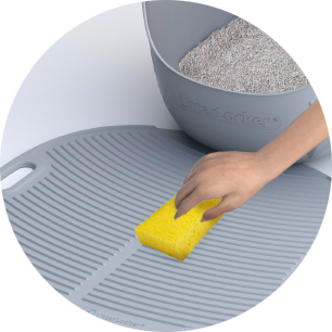 LitterLocker Cat Litter Mat Easy to clean