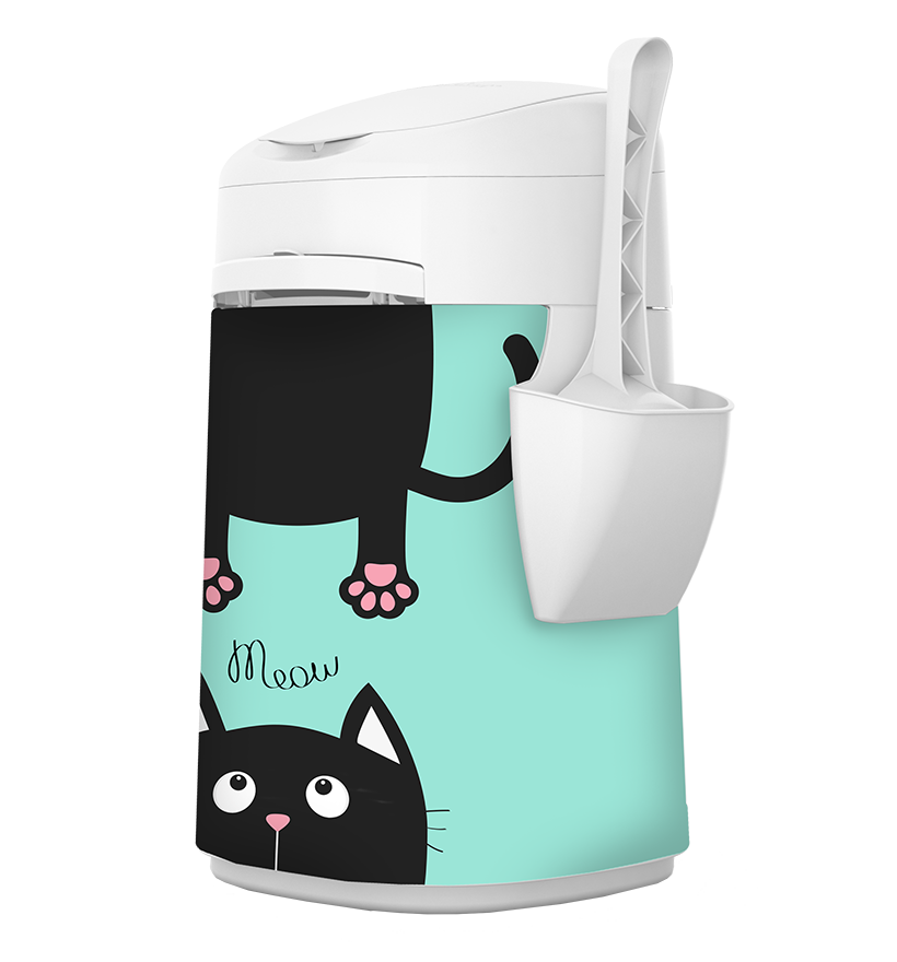 LitterLocker Design Plus Fabric Sleeve Cat-in-2
