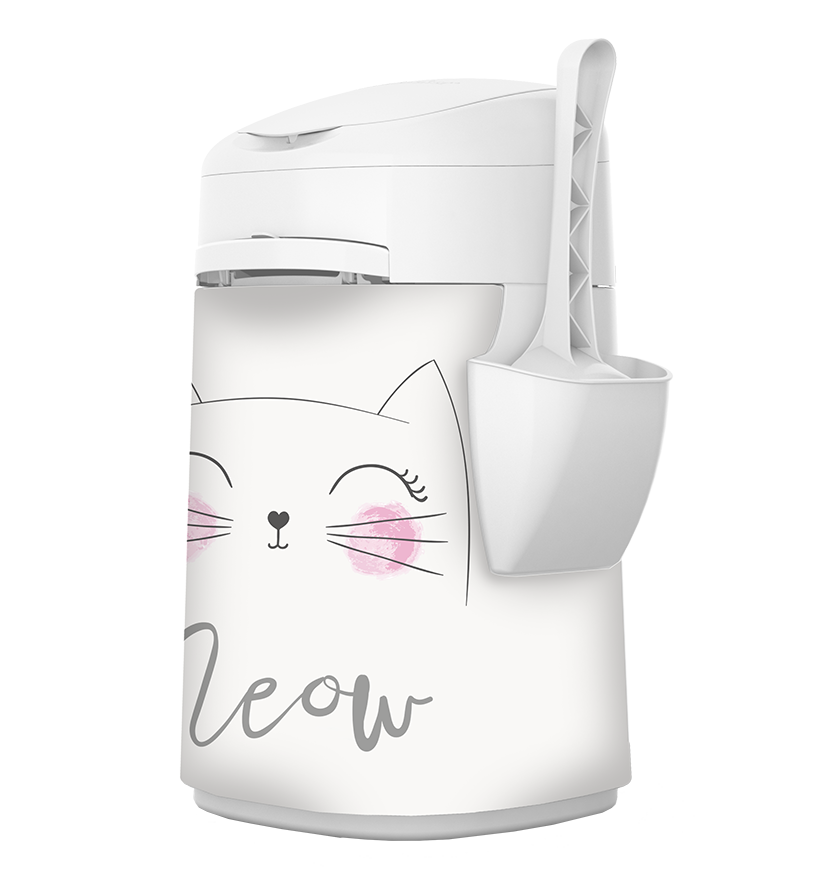 LitterLocker Design Plus Fabric Sleeve Meow