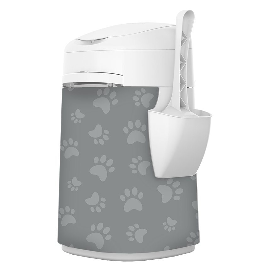 Housse de tissu LitterLocker Design Plus Cat Paws