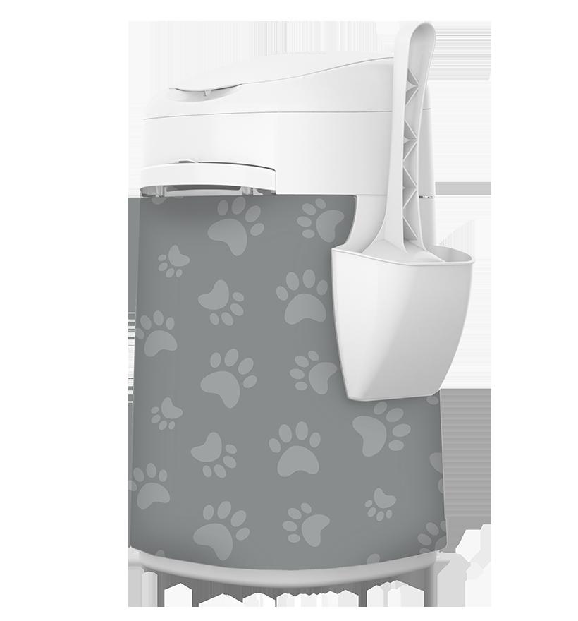Housse de tissu LitterLocker Design Plus Cat Paws
