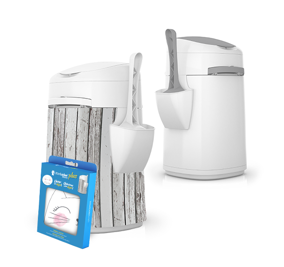 LitterLocker Design & Design Plus Cat Litter Disposal System about