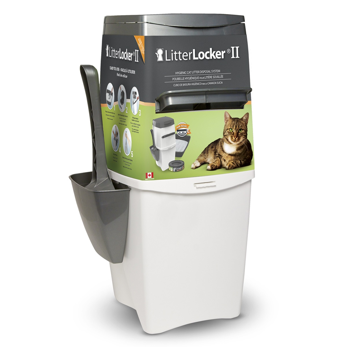 Poubelle à litière pour chat LitterLocker II