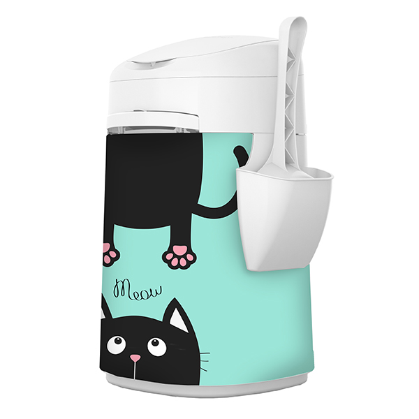 LitterLocker Design Plus Fabric Sleeve Cat-in-2