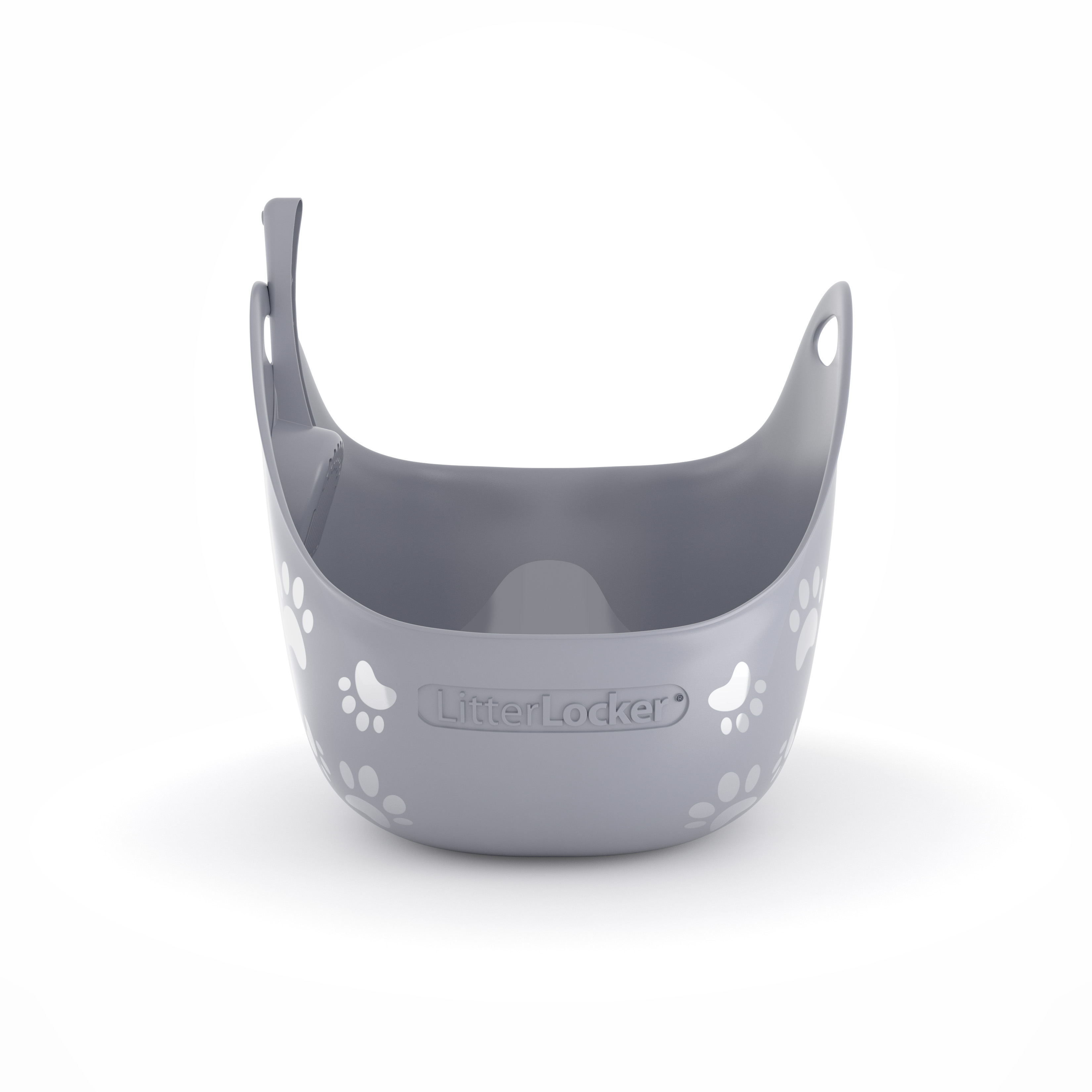 Litterbox by LitterLocker Grey front