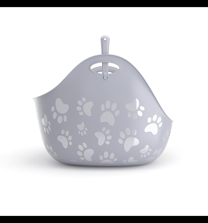Litterbox by LitterLocker Grey side