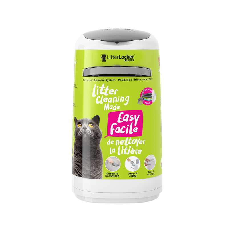 LitterLocker Design Cat Litter Disposal System front PACK