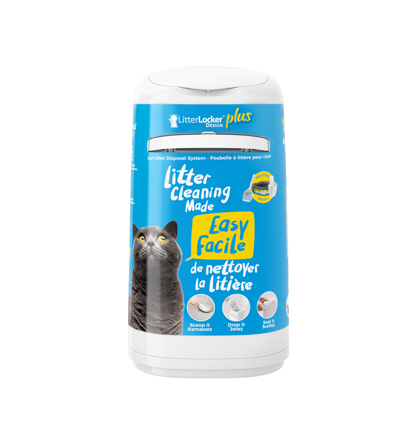 LitterLocker Design Plus Cat litter pail PACK