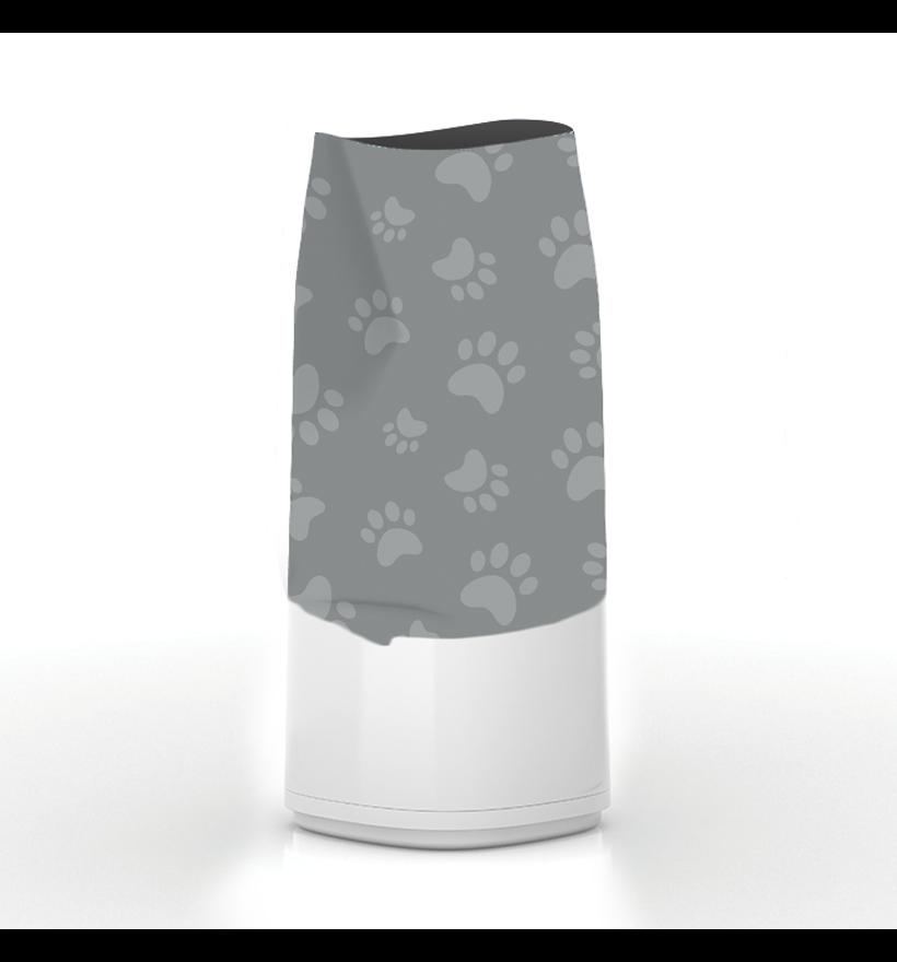 LitterLocker Design Plus Fabric Sleeve Cat Paws Step 1