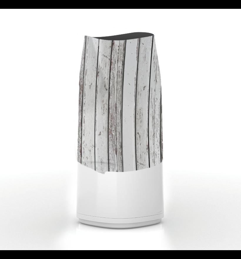 LitterLocker Design Plus Fabric Sleeve Wood Step 1