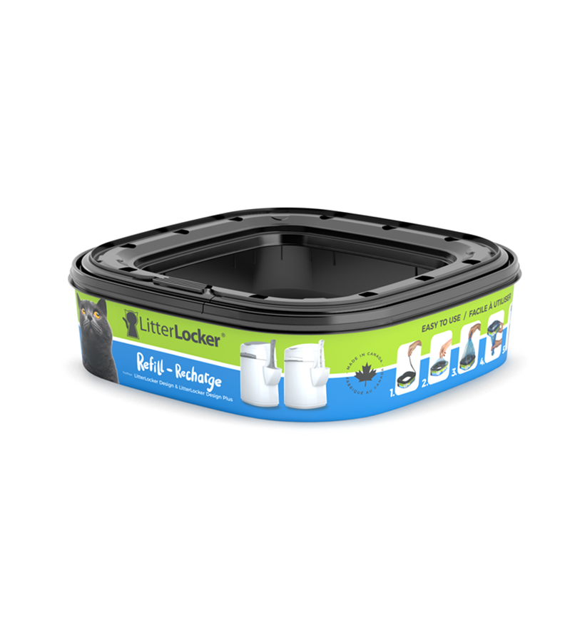 LitterLocker Design & Design Plus Refill Single
