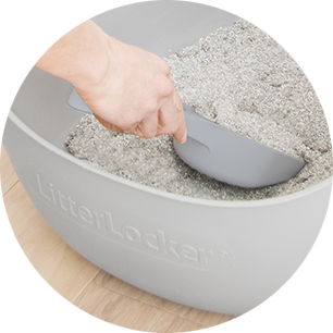 LitterLocker Design Cat Litter Disposal System Scoop it!