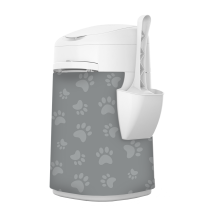 LitterLocker Design Plus Fabric Sleeve Cat Paws