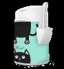 Housses de tissu LitterLocker Design Plus Cat-in-2