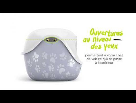 Embedded thumbnail for Dôme pour bac à litière