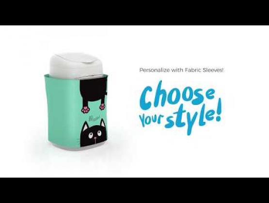 Embedded thumbnail for LitterLocker Design Plus Cat Litter Pail